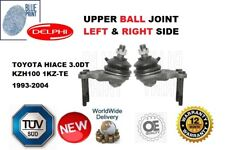 FOR TOYOTA HIACE 3.0TD KZH100 1KZ-TE 1993-2004 UPPER ADL 2 X BALL JOINTS NEW