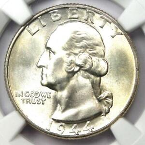 1944 Washington Quarter 25C - NGC MS67+ Plus Grade - $6,850 NGC Value!