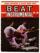 BEAT INSTRUMENTAL No 32 Dec 1965 Spencer Davis Small Faces Brian Jones Who