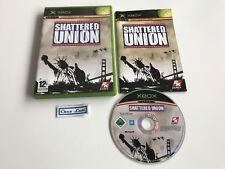 Shattered Union - Microsoft Xbox - PAL FR - Avec Notice