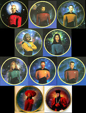 1989 Star Trek:Next Generation Crew Plate Collection-Series 2-Your Choice or Set