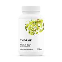 THORNE NiaCel-250® (Nicotinamid Ribosid) 60 Vege Kapseln, VERSAND WELTWEIT