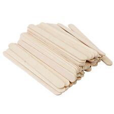 Holzspatel Holzstiele Modellbau Bastelhölzer Stück Eisstiel Holz Holz 50DE*·