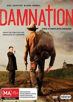 DAMNATION - THE COMPLETE SERIES [NTSC REGION FREE] (3DVD) SEALED