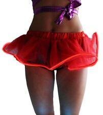 Women LED Light Up Tutu Mini Skirt Halloween Party Stage Show Club Dress