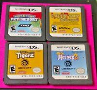 Petz Horsez 2 Puppy Love Paws Pet Resort Tigerz - Nintendo DS Lite 2ds 3ds Game