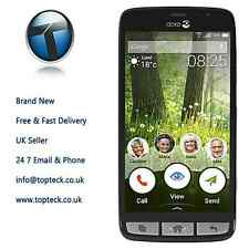 Doro 8030 DSB-0010 Black/Grey Unlocked Smartphone Brand New