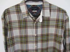 Camicie casual e maglie da uomo multicolore a righe con colletto regolare