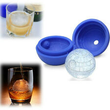 Ice Cube Star Wars Death Star Silicone 3D Food Mould Tray Round Ball Sphere NEW