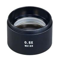 New D48mm Auxiliary Objective Lens 0.5x for Stereo Microscope
