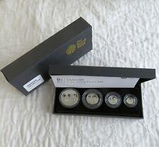 2009 SILVER PROOF BRITANNIA 4 COIN COLLECTION - 2500 sets