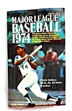VINTAGE 1974 Major League Baseball Book Hank Aaron Atlanta Braves Cover