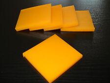 PUR 1 Stück 100 x 100 x 20 mm Polyurethan PU Platte Schlagunterlage Rammschutz