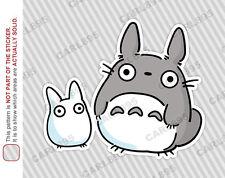 Ghibli Totoro Chibi Car Truck SUV Vinyl Bumper Sticker