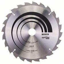 BOSCH Optiline bois Lame scie circulaire 254x30x24 2608640434