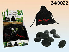 SPA HOT ROCKS MASSAGE THERAPY RELAXATION STONE SET HOT/COLDTREATMENT PAIN RELIEF