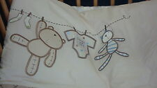 Lollipop Lane Teddy's Wash Day Co T/ Cotbed Quilt Cover and Pillow Case
