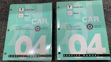 2004 GM Pontiac GRAND AM Oldsmobile ALERO Service Shop Repair Manual OEM