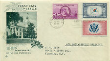 SCOTT # 927 WITH CE-2/921 FDC, FLORIDA, ARTCRAFT CACHET, TYPED ADD., GREAT PRICE