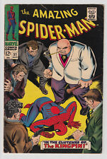 AMAZING SPIDER-MAN # 51 2ND KINGPIN Joe Robertson cameo 1967 VERY GOOD-plus 4.5