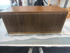 audiorama loft design retro rare grundig  box seventie's duo bass 402a