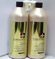 Pureology Fullfyl Shampoo & Conditioner 33.8 Liter Set Duo Pack Pumps Included