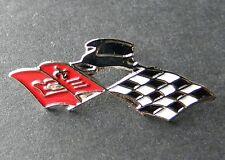 CHEVY IMPALA FLAGS CHEVROLET AUTOMOBILE CAR AUTO LAPEL PIN BADGE 3/4 INCH