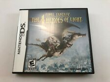 Final Fantasy: The 4 Heroes of Light; Nintendo DS; USA release