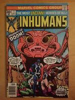 The Inhumans #7 Black Bolt Medusa Marvel Comics October 1976 Gil Kane