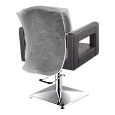 "PROFESSIONAL HAIRDRESSING PVC CHAIR BACK COVERS CLEAR BLACK 18"" 20"" 22"" 24"" 26"""