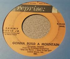 Sammy Davis Jr. ‎– Gonna Build Me A Mountain / What Kind Of Fool Am I