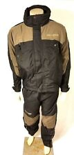 VNTG HARLEY-DAVIDSON Mens Rain Suit 2 PC Jacket Pants Navy/Tan/Gray Small S