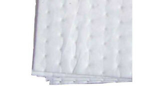 2 x Bonded Oil/Fuel Only Absorbent Spill Pads boat bilge car truck