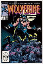 WOLVERINE #1 (1988) 1st First Appearance of Wolverine as 'Patch' Marvel Fine F