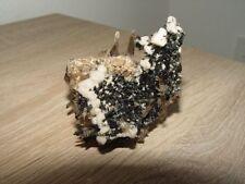 Aegirin Quarz Orthoklas-Mt.Malosha Malawi Mineralien Stufe, ca.6x6x6cm