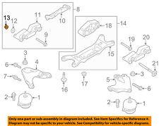FORD OEM 15-18 Mustang 5.2L-V8 Engine Mount-Bracket nut W520104S440