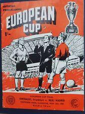 More details for 1960 european cup final - real madrid 🇪🇦 v eintracht frankfurt 🇩🇪