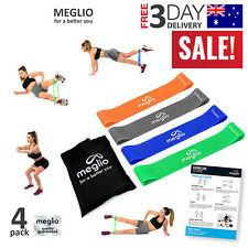 MEGLIO Resistance Bands Exercise Set Workout Train Loop Elastic Stretch Fitness