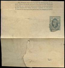 Cape Of Good Hope 1/2d Grey QV Stationery Wrapper Cover Used #C15836