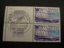 BLOC 2 timbres - YT 2048 - 1er jour - FRANCE - neufs** - Nantes - 1979