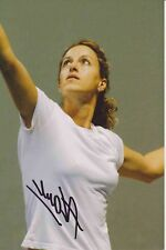 Andreea Vanc  Rumänien  Tennis Foto original signiert 381364