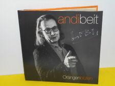 LP - ANDI BEIT - ORANGENBLÜTEN - STS - EAV - SIGNIERT - FARB VINYL