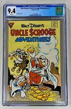 Walt Disney's Uncle Scrooge Adventures #1 CGC 9.4 WP NM Gladstone 1987