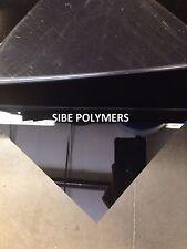 Black Plexiglass Cast Acrylic Sheet - 12