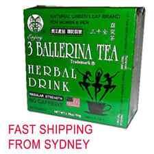 3 BALLERINA TEA SLIMMING TEA FOR DIET SLIM WEIGHT LOSS 30 TEA BAGS
