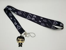 Harry Potter Lanyard with ID Badge Holder Cell Phone Holder and Charm Handmade