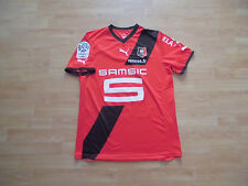 Maillot porté Match worn shirt Stade Rennes APAM ligue 1 (no psg om asse France)