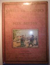 Contes et légendes du Pays Breton, Collectif, 1935