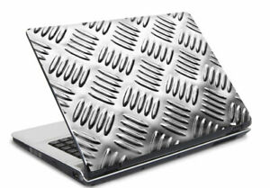Laptop Notebook Netbook Skin Sticker Folie Schutz Aufkleber Metal 26x19 NEU