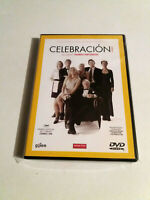 "DVD ""CELEBRACION"" COMO NUEVO THOMAS VINTERBERG DOGMA 95 SEALED"